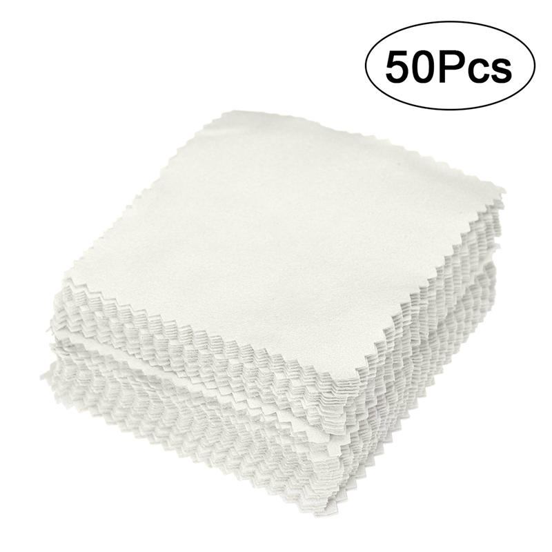 LUOEM 50cs Cleaner Clean Glasses Lens Cloth Wipes For Sunglasses Microfiber Eyeglass Cleaning Cloth