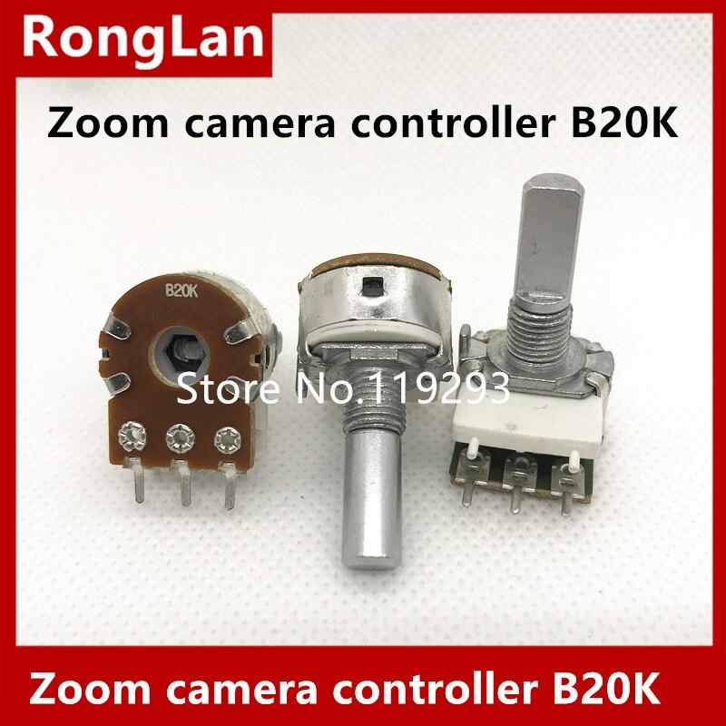 [BELLA]Zoom camera controller - reset potentiometer potentiometer control rocker B20K professional --10PCS/LOT