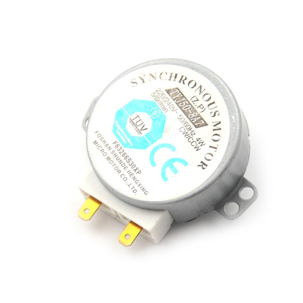Motor síncrono de 220-240v 4w para o motor da bandeja do forno da micro-ondas do ventilador de ar TYJ50-8A7