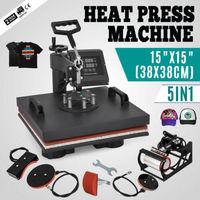 5 in 1 38cmx38cm Multi-function Hot Stamping Machine Five-in-one Heat Press Machine