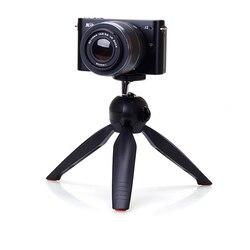 Mini tripé + suporte do telefone clipe de desktop tripé para sl/câmera digital dv telefone inteligente para gopro sjcam sony acessórios da câmera