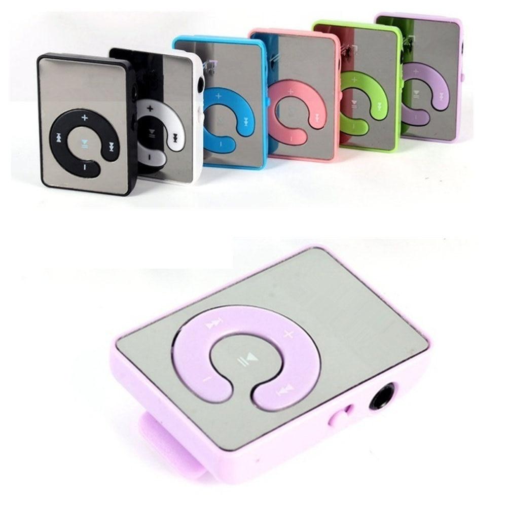 USB 2.0 Button 8GB Mirco SD TF Card Mini MP3 Player USB Interface Walkman MP3 player Music Clip Digi