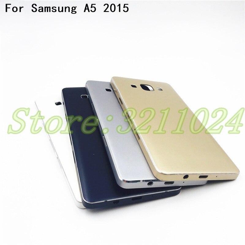 Cubierta de batería piezas de repuesto para Samsung Galaxy A5 2015 A500 A5000 SM-A500F tapa trasera de la batería