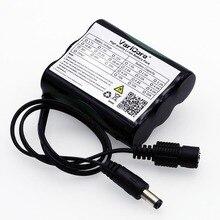 VariCore 12 v 2600 mAh 18650 Li-ion batterie Rechargeable pour 35 W lampe à LED CCTV caméra DC plug 5.5*2.1 MM