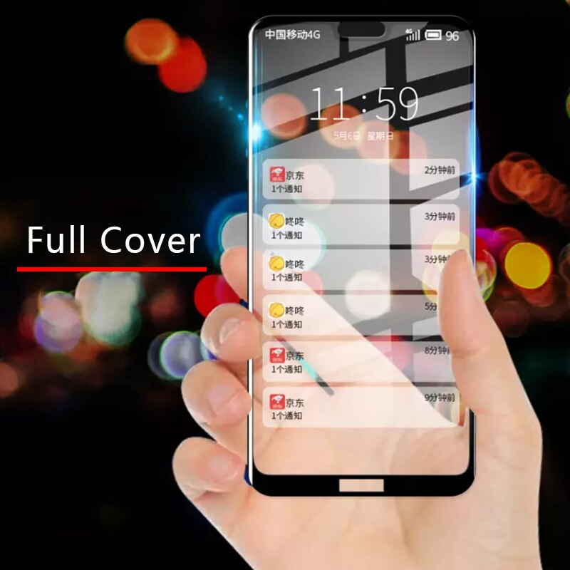 Чехол для Nokia X7 X6 X5 X3 3,1 5,1 6,1 Plus полное покрытие Закаленное стекло Защитная пленка Tremp X 7 6 5 3,1 plus 5,1 plus 6,1 plus