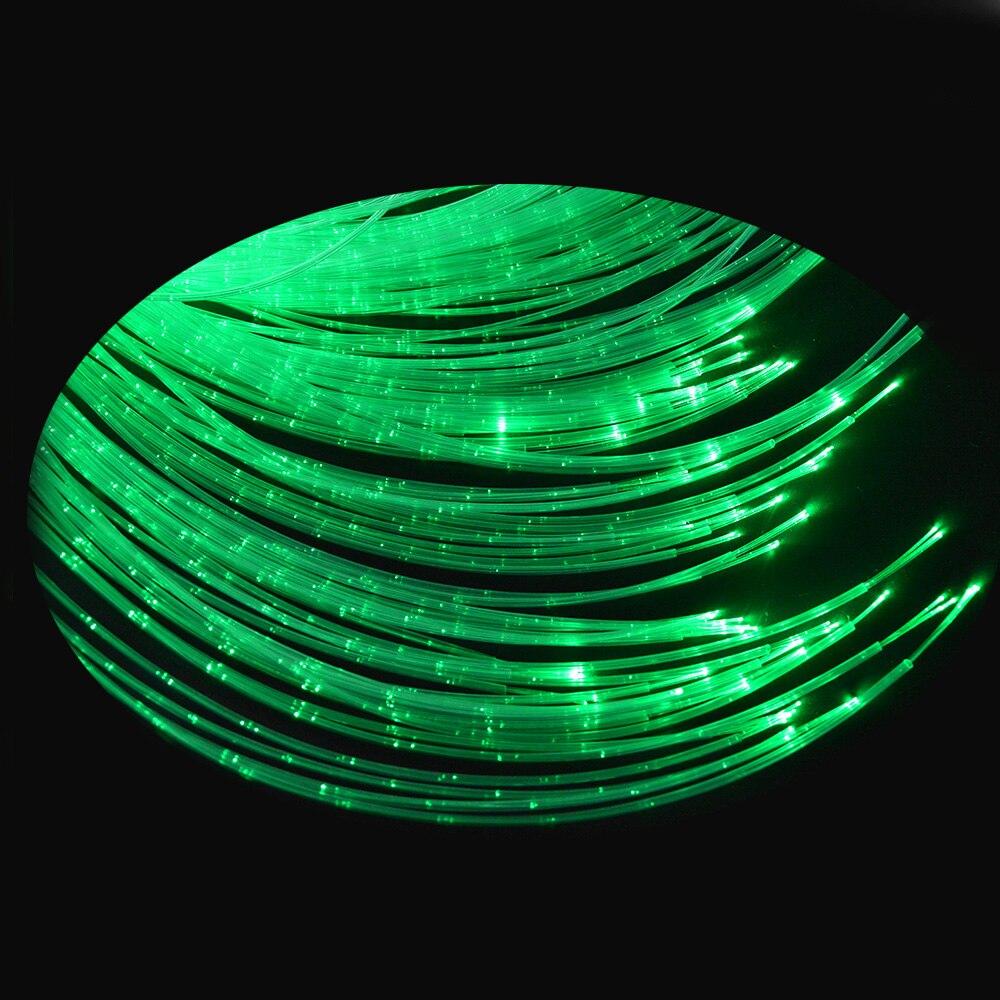 Maykit Kit de iluminación de fibra óptica con fuente de luz modelo LEI-4001, 450m 3 uds 0,75mm cuchillo caliente de cable de fibra brillante