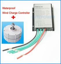 Générateur 300W compatible avec contrôleur de vent 12V/24V   Pour éoliennes à trois phases AC 12V 24V, verticales ou horizontales