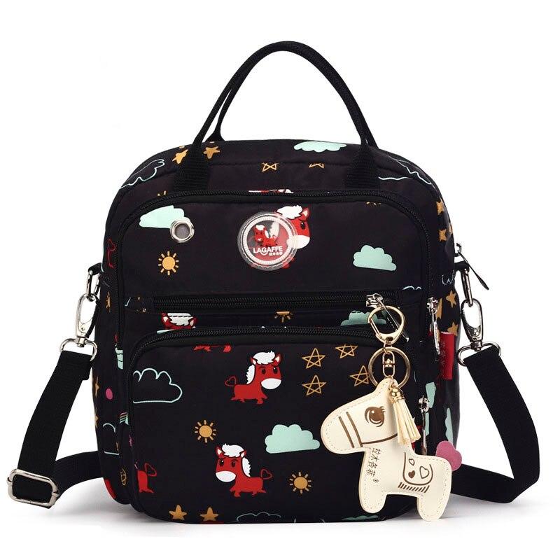 Waterproof Diaper Bag Mummy Maternity Bag For Baby Nursing Small Nappy Changing Backpack For Mom Baby Handbag Stroller Organizer