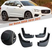 Garde-boue avant arrière garde-boue garde-boue réfléchissant garde-boue garde-boue pour Volvo XC60 2014 2015 2016 2017 garde-boue accessoires