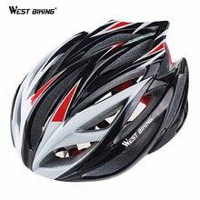 WEST RADFAHREN Multi-Sport Helm Radfahren BMX Berg Trinity Fahrrad PVC 22 Air Vents Bicicleta Helm Visier Futter Pad