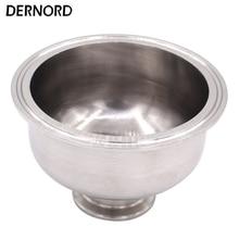 DERNORD réducteur de bol à trois pinces   Raccord sanitaire en acier inoxydable 1.5 'à 4', réducteur à trois brides hémisphérique 304