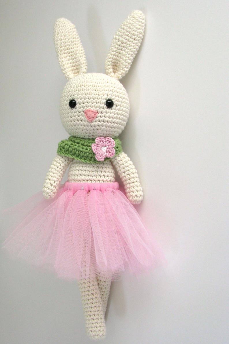 crochet toys  amigurumi  rabbit bunny