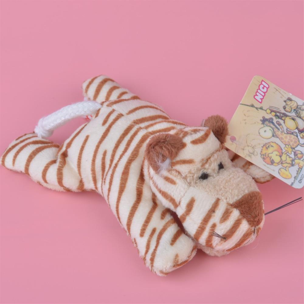 1 Uds. Tigre imán de nevera de peluche, juguete para niños, muñeca de regalo, envío gratis