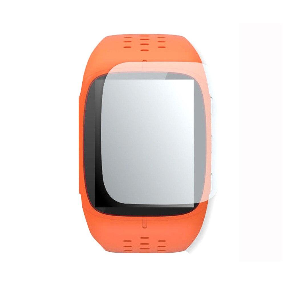 1 Uds Protector de pantalla LCD transparente película protectora para Polar M430 reloj deportivo inteligente JUN-12A Pantalla de vidrio templado