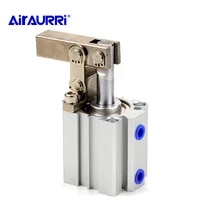 alcjgl 25 32 40 50 63 double action clamping cylinder air compressor cylinder pneumatic components lever downward cylinder
