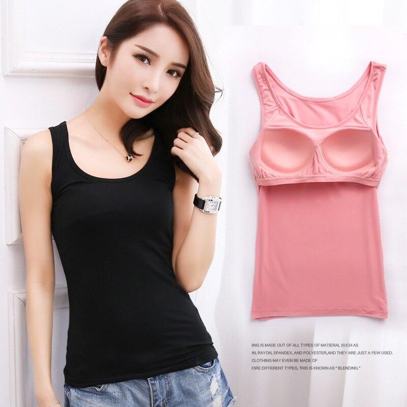Camiseta sin mangas cálida de cuello redondo para mujer, ropa de tren superior, chaleco básico combinable con todo, negro, gris, blanco, púrpura, Rosa y Rojo