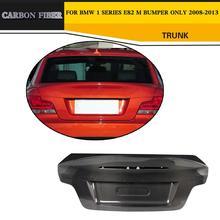 ألياف الكربون التمهيد اللوحات الخلفية الجذع لسيارات bmw e82 M فقط 2008-2013