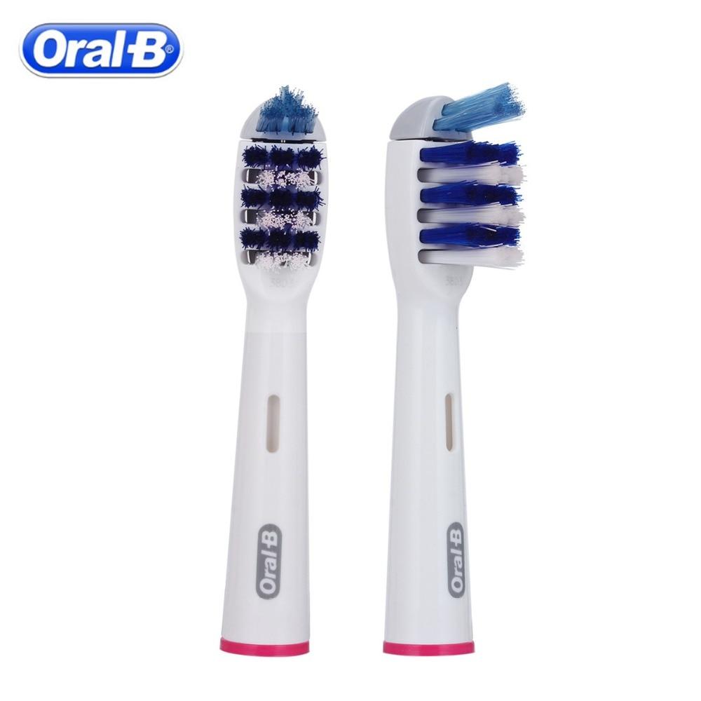 1 pc/2 pc אוראלי B מברשת שיניים חשמליות ראשי החלפת EB30 Trizone מברשת ראשי EB20 Precision נקי מברשת שיניים חשמליות ראש