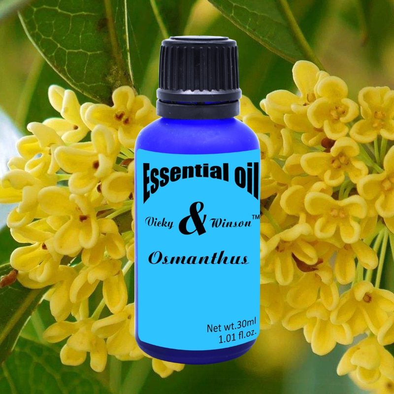 Vicky&winson Osmanthus aromatherapy essential oils 30ml Water - soluble flavor towels laundry detergent deodorization water soluble pva film laundry detergent pods packing machine water soluble pva
