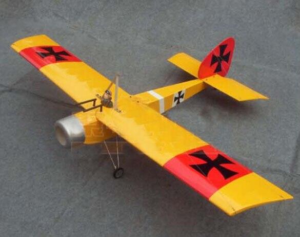 63in Baron 15CC RC modelo gasolina/avión de gasolina ARF-Color amarillo