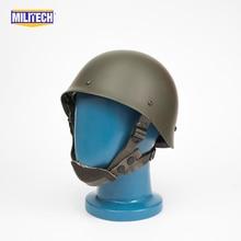 Militech-casque Oliver Drab OD   Casque de Collection de Repro, en acier, modèle 1978, Green F1