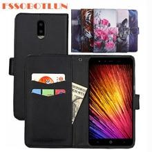 FSSOBOTLUN For Leagoo Z7 Case PU Leather Retro Flip Cover Shell Magnetic Fashion Wallet phone Cases