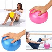 Boule de Yoga 25cm exercice gymnastique Fitness balle de Pilates exercice déquilibre gymnastique Fitness Yoga balle de base entraînement intérieur balle de Yoga