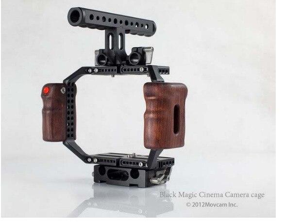 Sistema de vídeo profesional MOVCAM BMCC cámara DSLR jaula soporte plataforma placa base DV