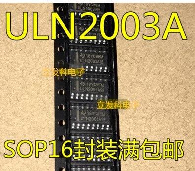 50 Uds ULN2003 ULN2003A ULN2003ADR ULN2003AG SOP16 envío gratis