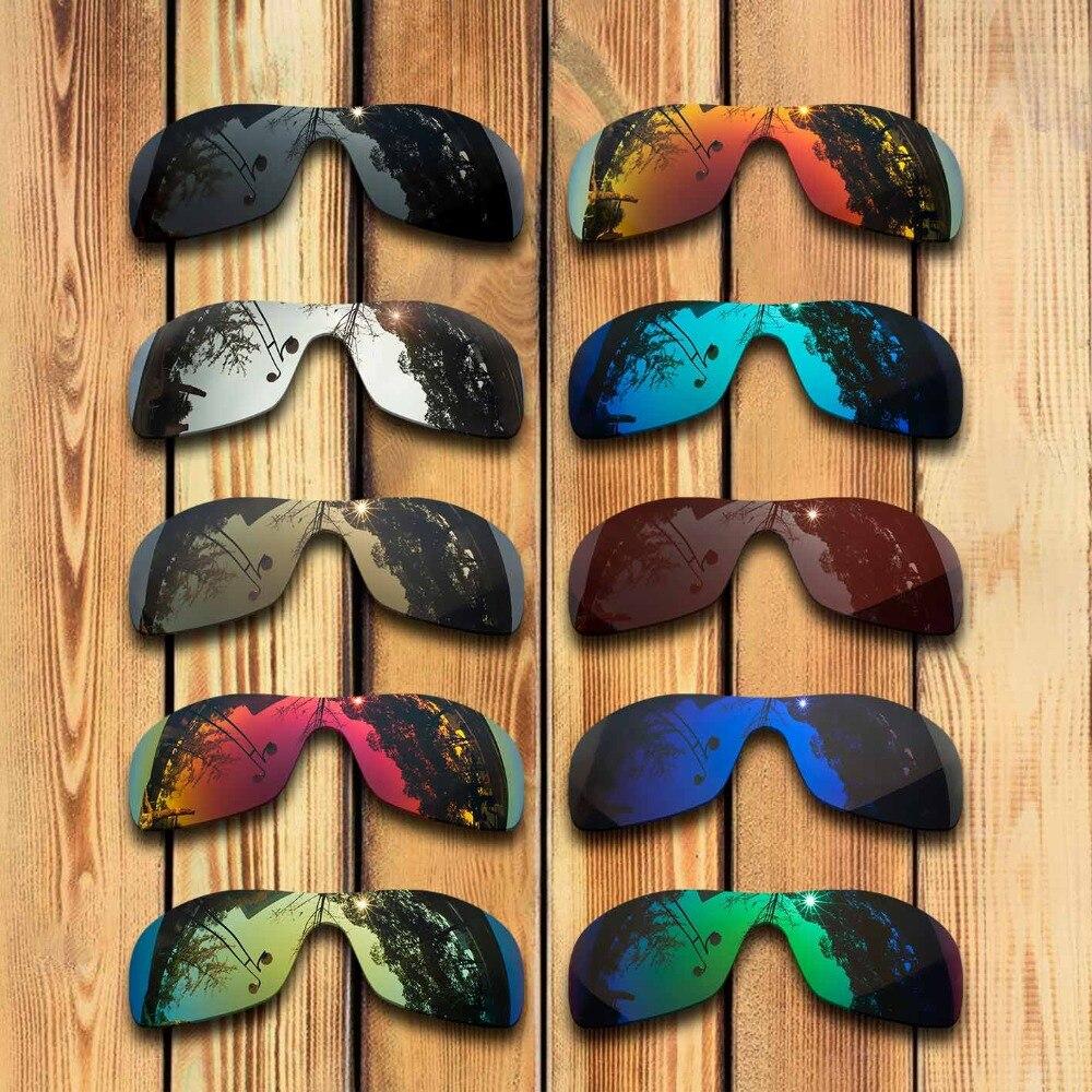 100% lentes de repuesto polarizadas cortadas con precisión para gafas de sol Oakley Antix-muchos colores