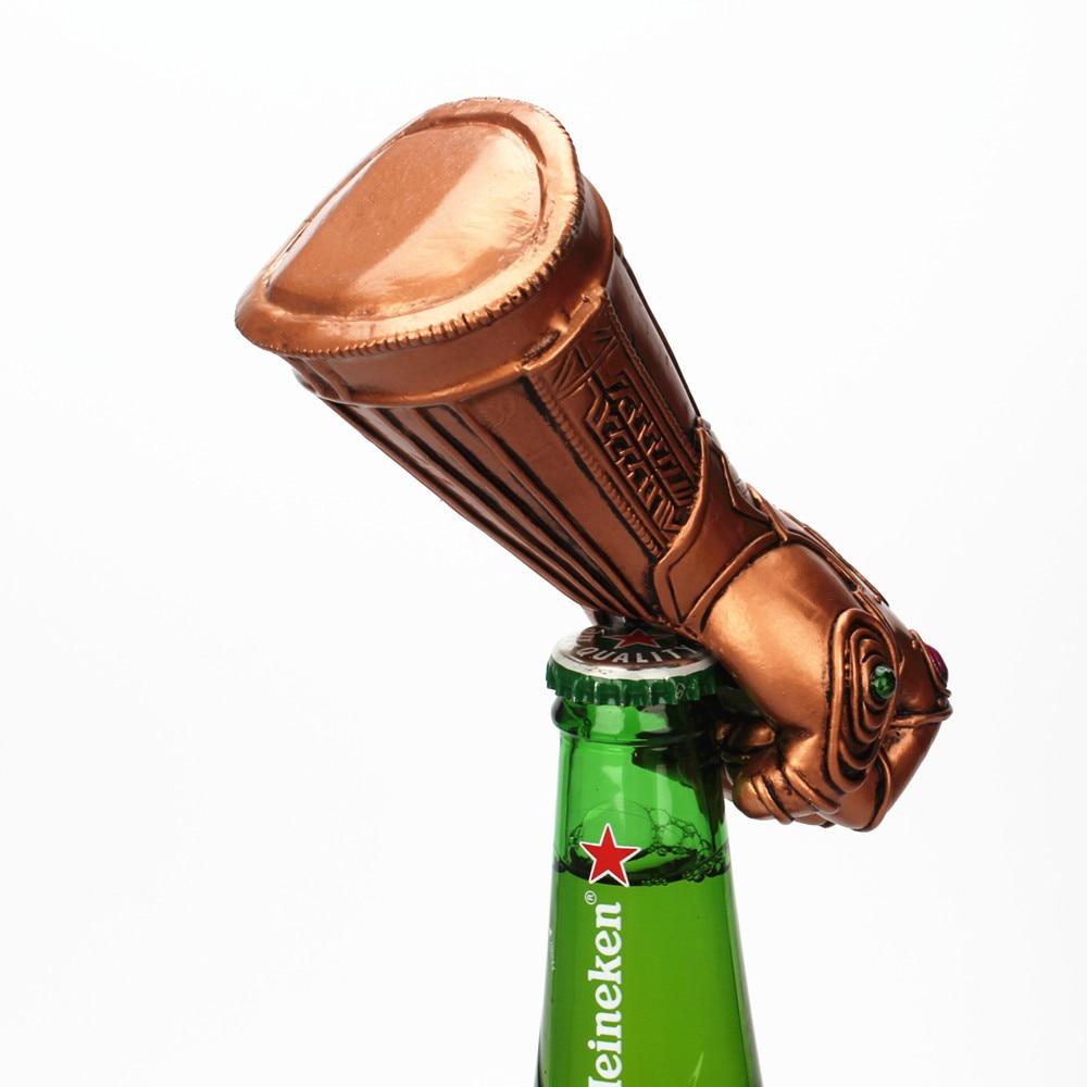 Marvel les Avengers Thanos gantelet gant bière décapsuleur à la mode utile Soda bouchon de verre décapant outil ménage