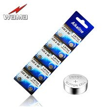 40x Wama AG5 Alkaline Batteries LR48 L750 LR754 393 SR754 193 398A Button Coin Cell Battery Electron