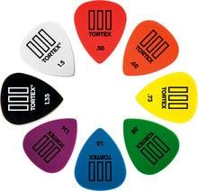 Dunlop tortex tiii 기타 픽업 plectrum 중재자 0.5mm-1.50mm, 1/piece