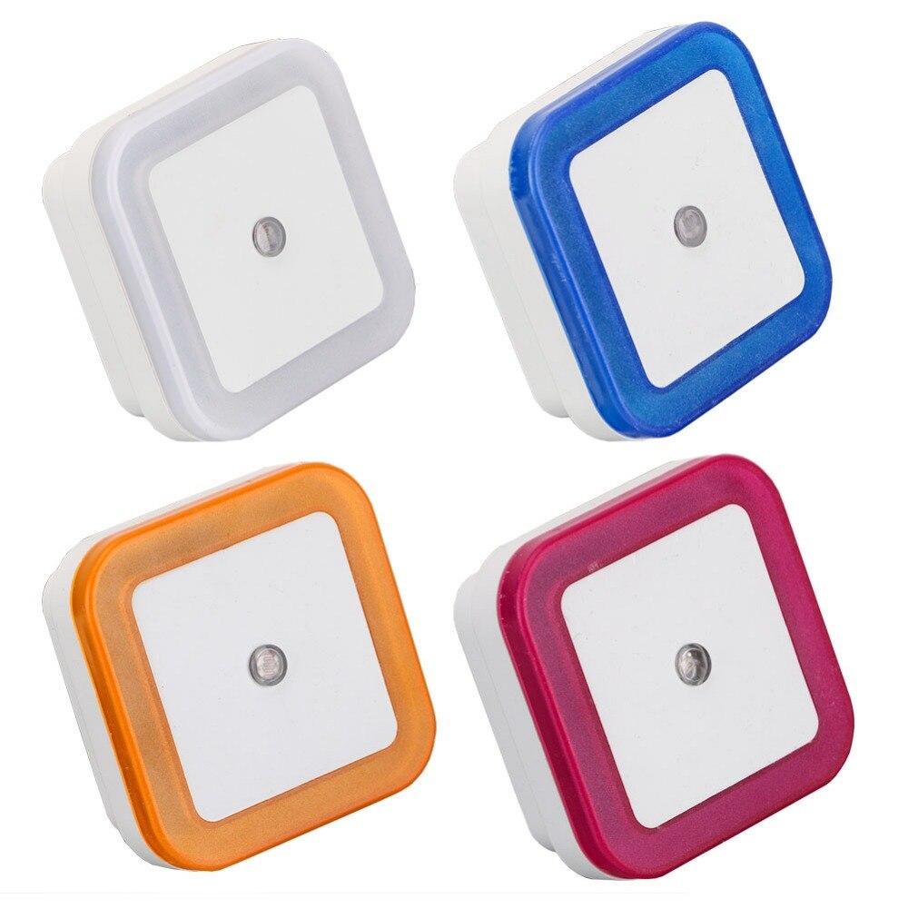 Sanyi Licht Sensor Control Night Licht Mini EU UNS Stecker Neuheit Platz Schlafzimmer Lampe Für Baby Geschenk Romantische Bunte Nacht licht