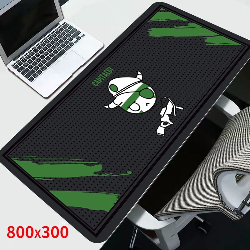 Sovawin Mouse Pad XL Rainbow Six Siege 80x30cm Gamer Gaming Computer Anti-slip Mousepads Rubber Desk Keyboard for PC for Office
