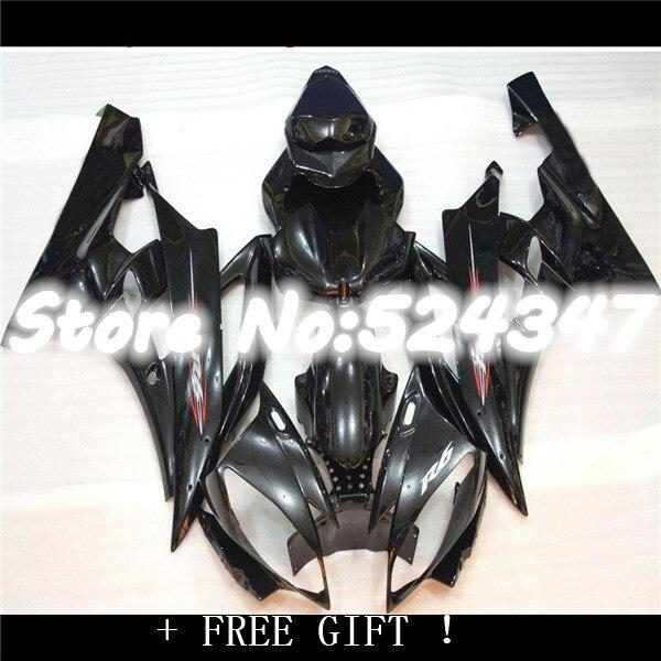 Nn-Verkleidungen vollen verkleidung kit für YZF-R6 2006 2007 schwarz karosserie verkleidungen set YZF R6 06 07 Motorrad Zubehör