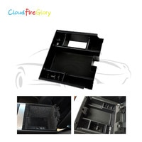 CloudFireGlory For Jaguar XF 2009 2010 2011 2012 2013 2014 2015 Armrest Storage Pallet Box Center Console Container