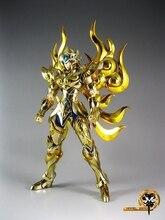Livraison gratuite SaiRe MC métal Club Saint Seiya tissu mythe EX âme dor dieu tissu léo Aiolia métal tissu Action Figure