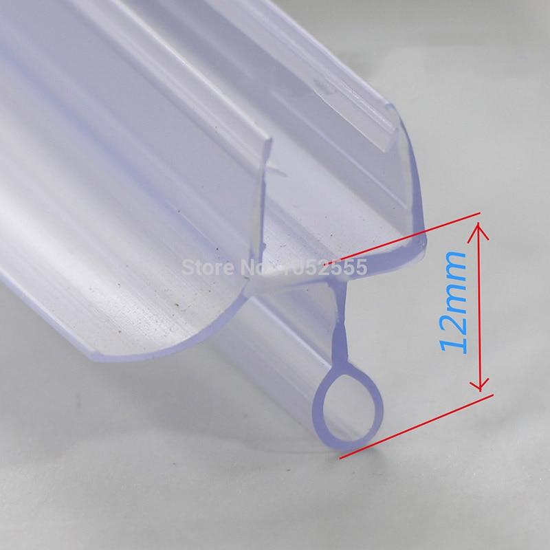 5 قطعة في حزمة لي-306 حمام دش الشاشة الكبيرة المطاط الأختام ماء الشرائط زجاج الباب الأختام طول: 700 مللي متر الفجوة 8-12 مللي متر