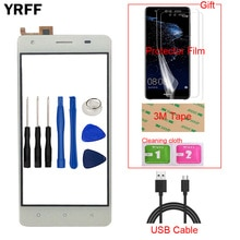 5.0'' TouchGlass Mobile Phone Touch Glass For Oukitel C5 / Oukitel C5 Pro Touch Screen Glass Digitiz
