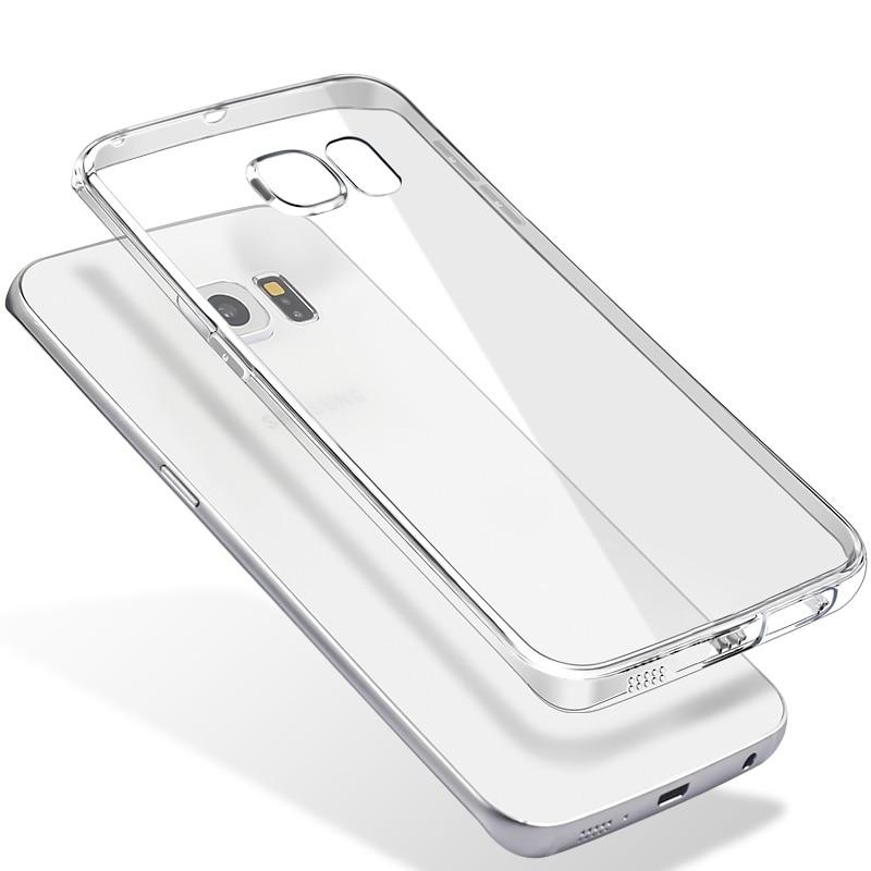 Ultra-thin Clear Soft TPU Phone Case For Samsung Galaxy S8 S9 Plus S6 S7 Edge J1 J3 J5 J7 A3 A5 A7 2