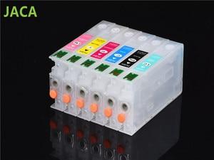 Картридж с чернилами RX700, пустые многоразовые картриджи для принтера Epson RX700 с постоянным чипом, 1 комплект