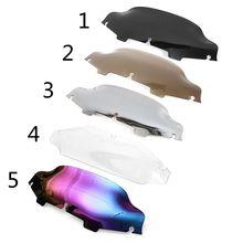 Pare-brise pour moto   6 pouces, déflecteur de vent pour moto Touring Electra Street glisse 1996-2009 2010 2011 2012