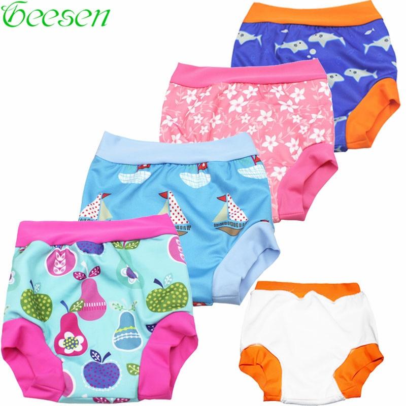 Детские пеленки для плавания, одежда для купания, штаны для плавания, одежда для плавания, одежда для плавания, подгузники, купальный костюм, моющиеся штаны для бассейна, тканевые подгузники для малышей