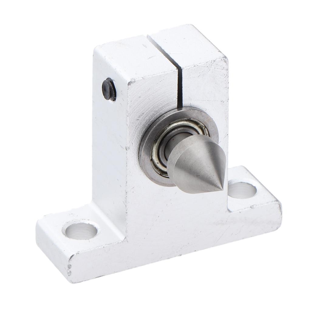 Piezas de sustitución de llave y centro de torno para minimáquina de torno para carpintería DIY