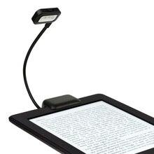 Esnek Mini klip taşınabilir lamba 0.5W okuma lambası okuma lambası Amazon Kindle/eBook okuyucular/pda