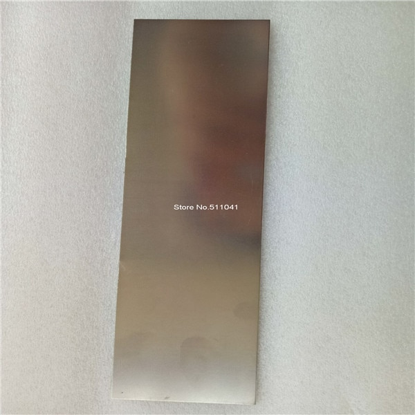 1 unidad de placa de NiTiNOL, hoja NiTi, lámina de Nitinol súper elástica de 1,0mm de espesor * 200mm * 57mm, envío gratis