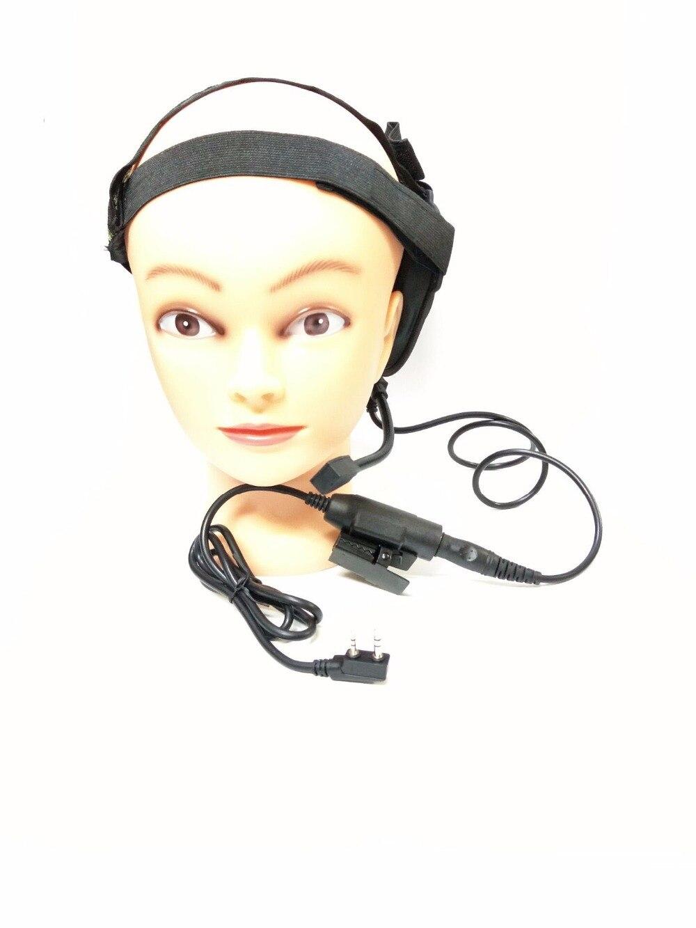 Z Tático Bowman Elite II Headset com U94 HD01 OPPXUN Estilo PTT para Kenwood BaoFeng UV-5R UV-82 BF-888S BF-F9 V2 + PuXing