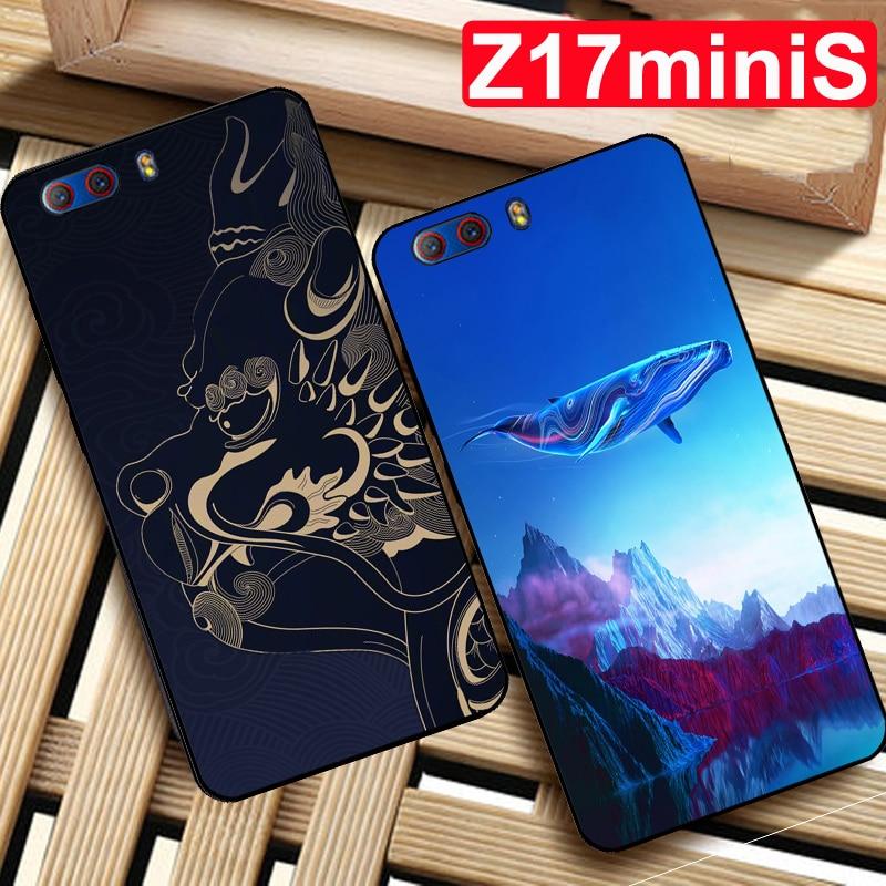 Coque para Nubia Z17 miniS funda bestia suave funda silicona trasera de TPU para Nubia Z17miniS funda protectora Z17mini S NX589J fundas de teléfono