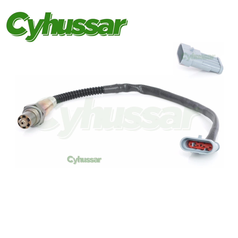 Alta calidad O2 compatible con sensor de oxígeno para FIAT Stilo 1,6 16V LS6376 LSF4.2 46762182, 60816794, 0258006376, 4 cables Lambda